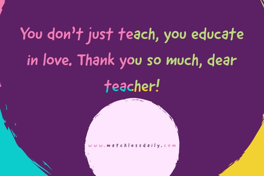 Inspiring Messages for Teachers