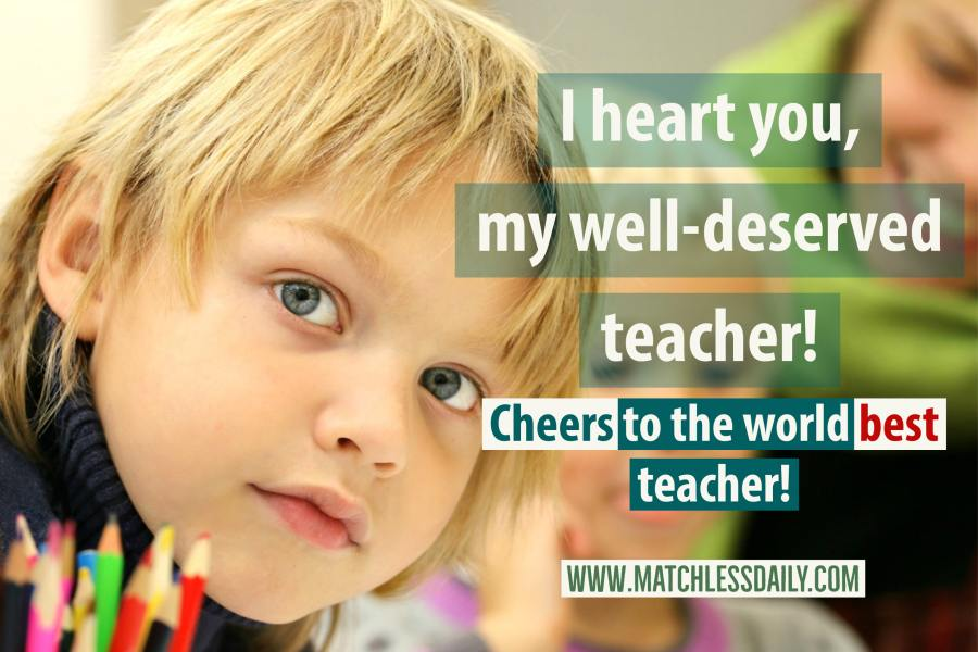 Quotes for Teachers from Students