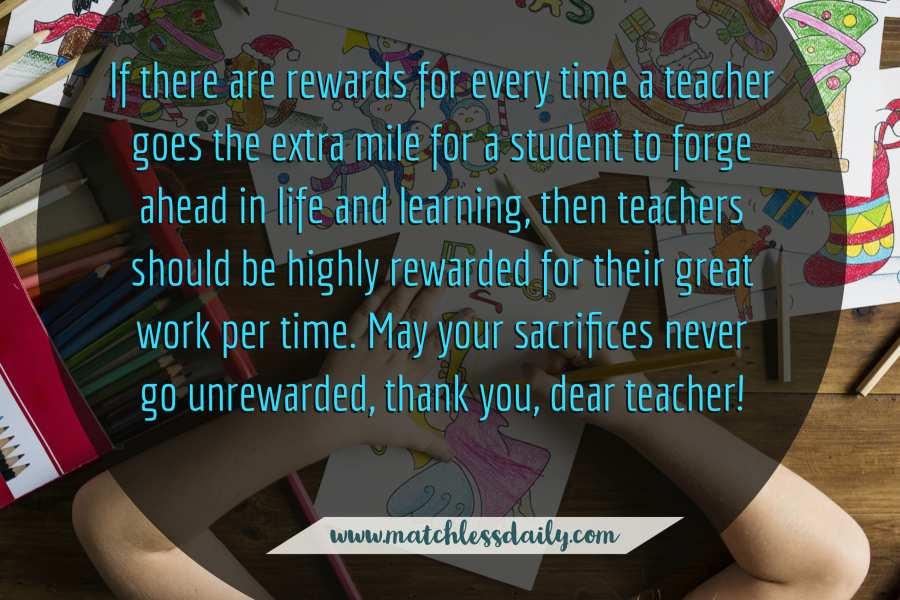 Best Comment for Teachers