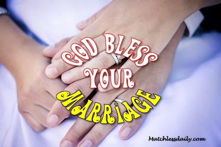God Bless Your Marriage Messages