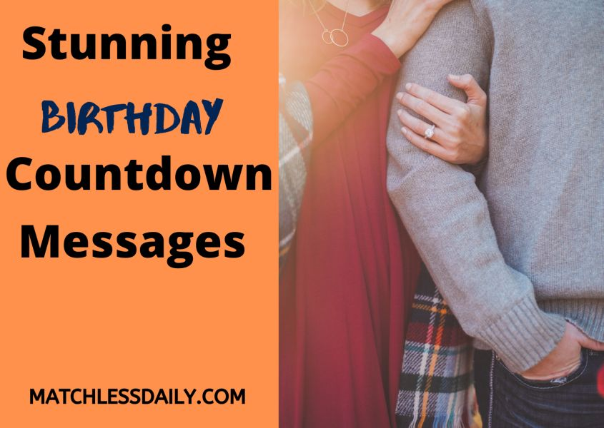 Birthday Countdown Messages