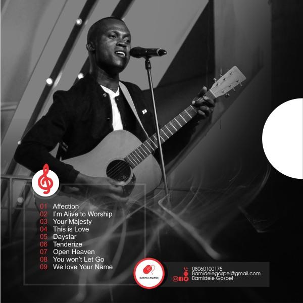 Bamidele Gospel Ignition Album Cover