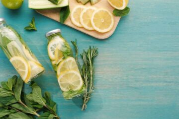 Drinking Lemon and Cucumber Water Everyday