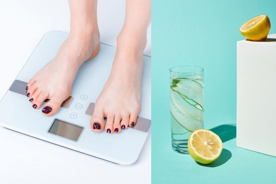 Lemon and Cucumber Water For Weight Loss Recipe