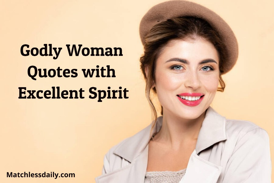 Godly woman quotes